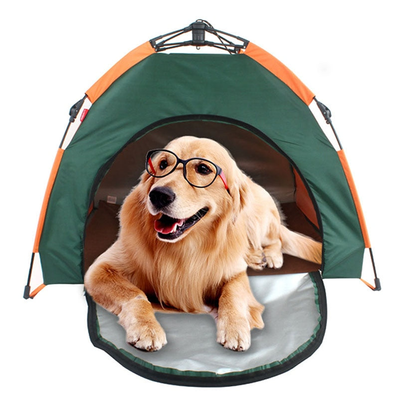 Waterproof Dog House Foldable Portable Kennel