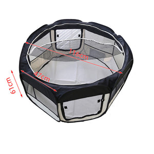 Dog Portable Foldable Playpen Crate Room Kennel