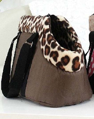 Winter Warm Small Dog Travel Carrier