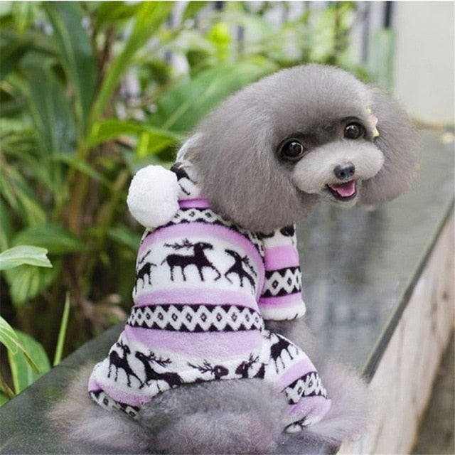 Jumpsuit Hoodie Coat For Dogs