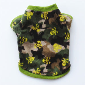 Warm Fleece Dog Pullovers