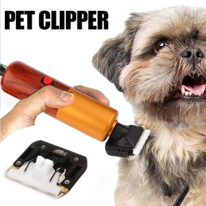 High Power Professional Dog Hair Trimmer Grooming Kit
