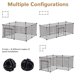 Dog Metal Wire Kennel Fence Playpen
