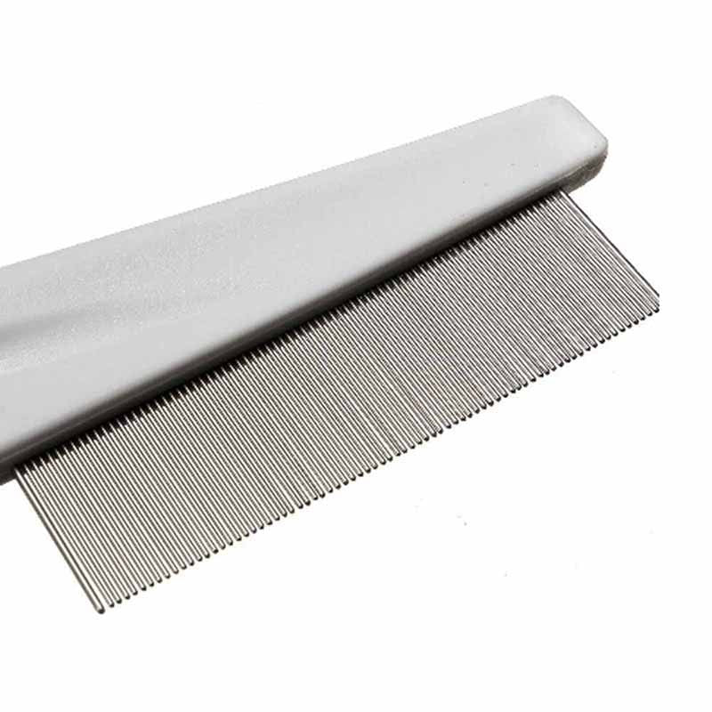 Stainless Steel Flea Hair Grooming Comb