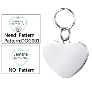 Stainless Steel Personalized Dog Tags