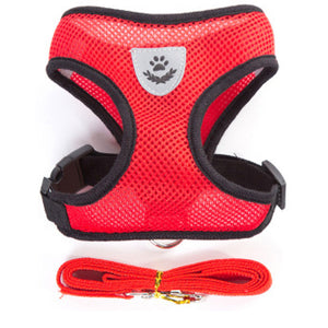 Breathable Dog Harness and Leash Set