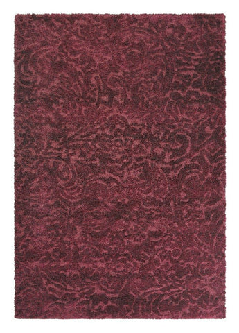 Image of Luxe vloerkleed Brink & Campman Twinset Ornament 22200 Vloerkledentrends bordeaux rood