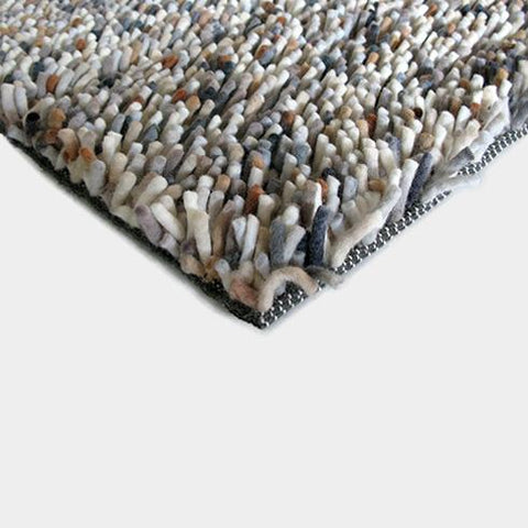 Image of Luxe vloerkleed Brink & Campman Rocks Mix 70401 hoek detail Vloerkledentrends