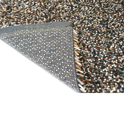 Image of Luxe vloerkleed Brink & Campman Rocks Mix 70405 hoek detail Vloerkledentrends