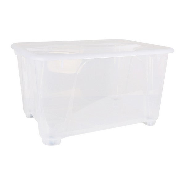 Storage Box with Wheels (80 x 60 x 45 cm)