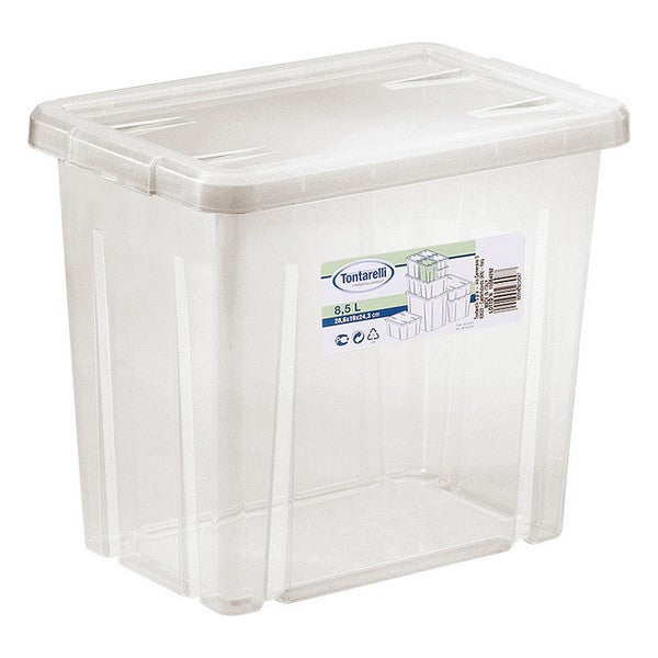 Storage Box with Lid Tontarelli (28,6 x 19 x 24,3 cm)