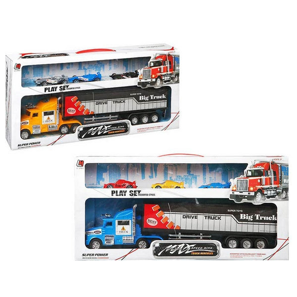 Truck Carrier and Friction Cars 119915