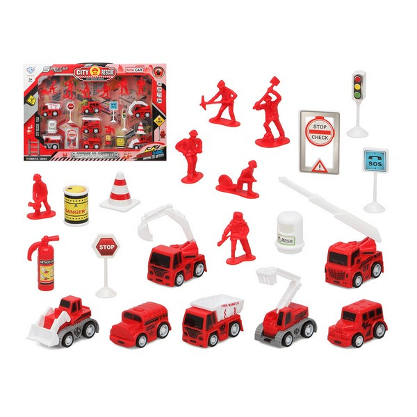 Fireman set City Recue Red 111131