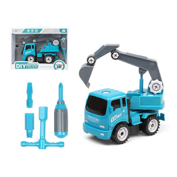 Construction Vehicles DIY Truck Blue 112572