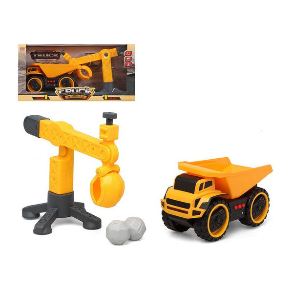 Dumper Truck with Loader Yellow 112961