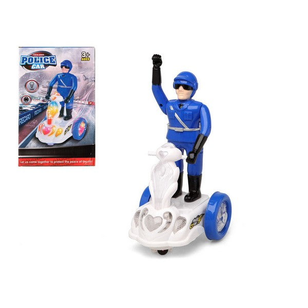 Motorcycle Police officer Blue 113654