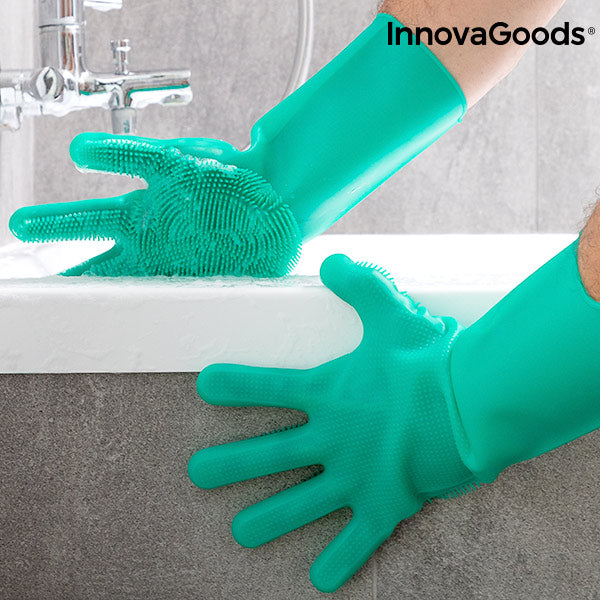 InnovaGoods Multi-Purpose Silicone Gloves