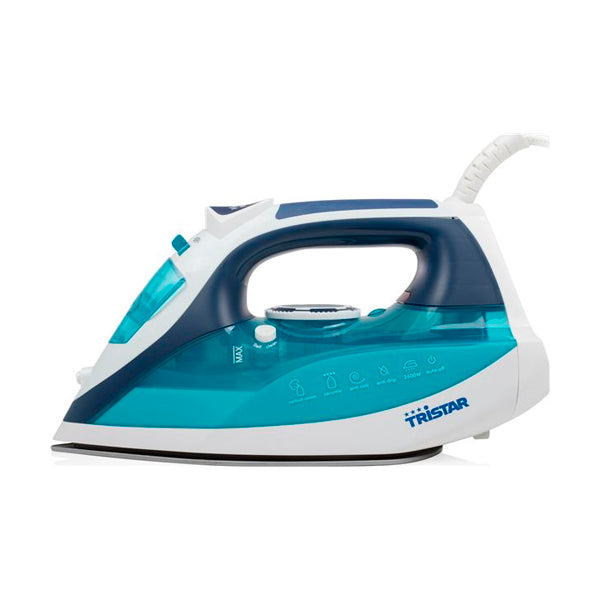 Tristar ST-8330 Steam Iron 0.35 L 2600W White Turquoise Blue -   - dailymegadeals-com