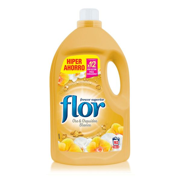 Flor Gold Clothes Softener 3.5 L (162 Washes) -   - dailymegadeals-com