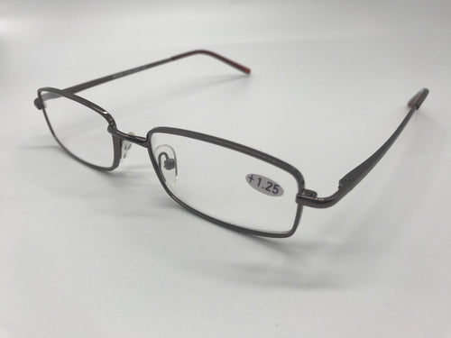 Milan Reading Glasses - Unisex Alloy Frames