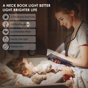 Hands Free Rechargeable LED Neck Lamp