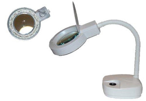 DESK LED LAMP 3X LENS 3 1/2""