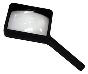 COIL 2.5X 6 DIOPTER RECTANGULAR HAND MAGNIFIER