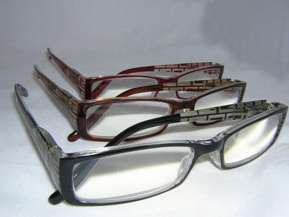 READING GLASSES WOMENS BURGUNDY +4.50