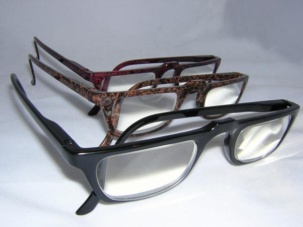 READING GLASSES HALF EYE DEMI AMBER +6.50