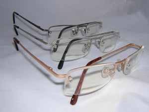READING GLASSES BIFOCAL GOLD +3.50