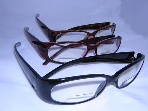 READING GLASSES BIFOCAL WOMENS BURG +1.50
