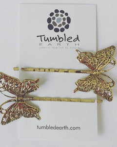 Butterfly Bobby Pins