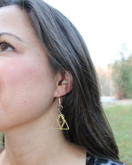 Geometric Shape Shaker Earrings - Part 2