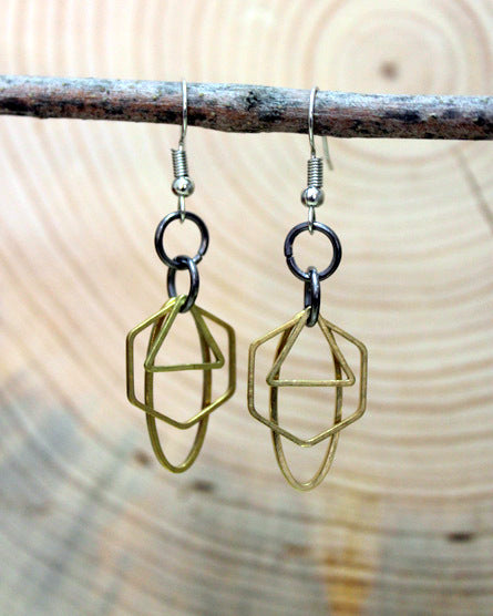 Geometric Shape Shaker Earrings