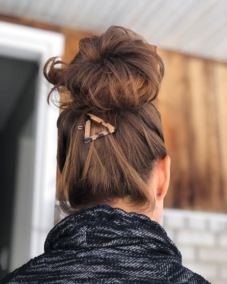 Tortoise Shell Triangle Hair Clip