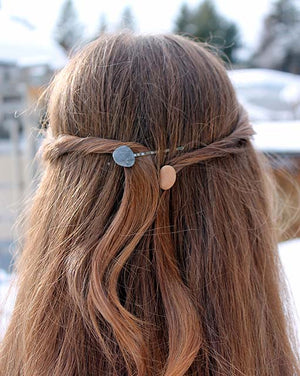 River Stone Bobby Pins