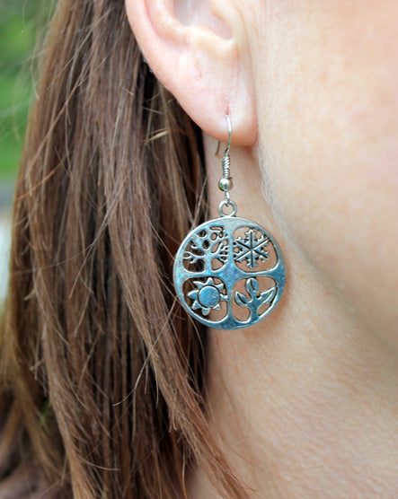 Silver Seasons Earrings