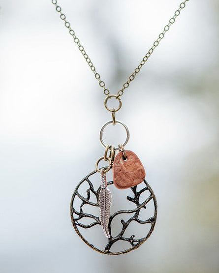 Tree Of Life Charmed Necklace