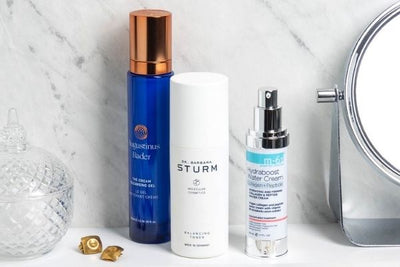 Fall Skincare Update products