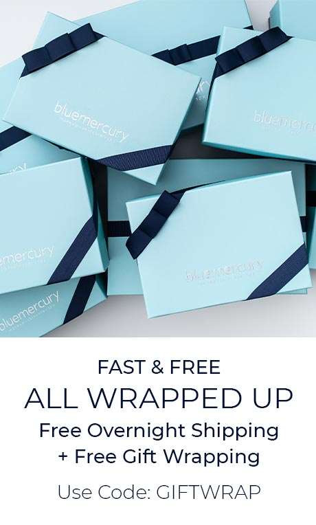 Free Overnight Shipping + Free Gift Wrapping