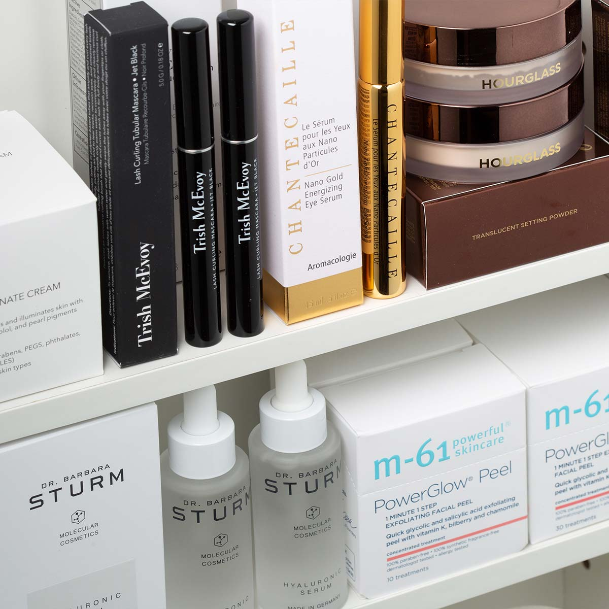 The products from Skincare Routine by Skin Type on a shelf