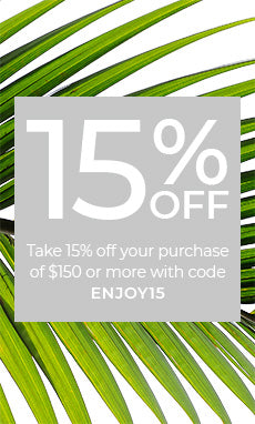 Enjoy 15% Off Purchases of $150