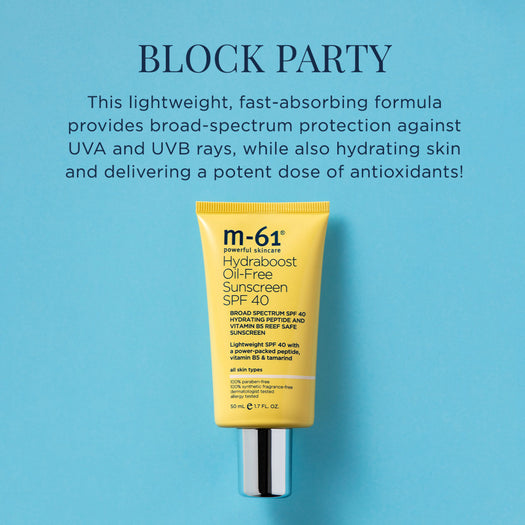 M-61 Hydraboost Oil-Free Sunscreen SPF 40