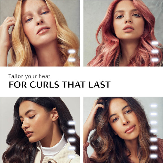 "Curl ID 1.25"" Smart Curling Iron with Interactive Touch Interface"