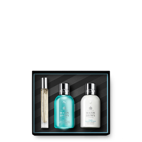 Coastal Cypress & Sea Fennel Travel Collection