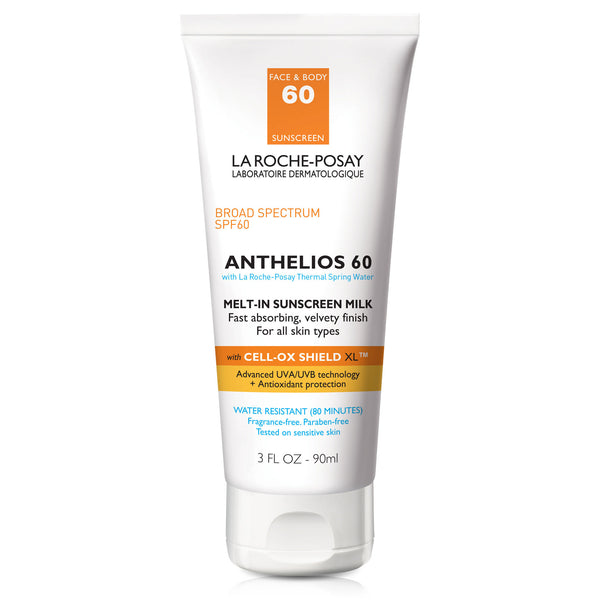 Anthelios Melt-In Sunscreen Milk SPF 60 for Face and Body