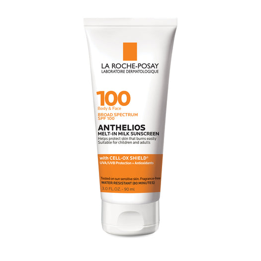 Anthelios Melt-in Milk Body & Face Sunscreen Lotion Broad Spectrum SPF 100