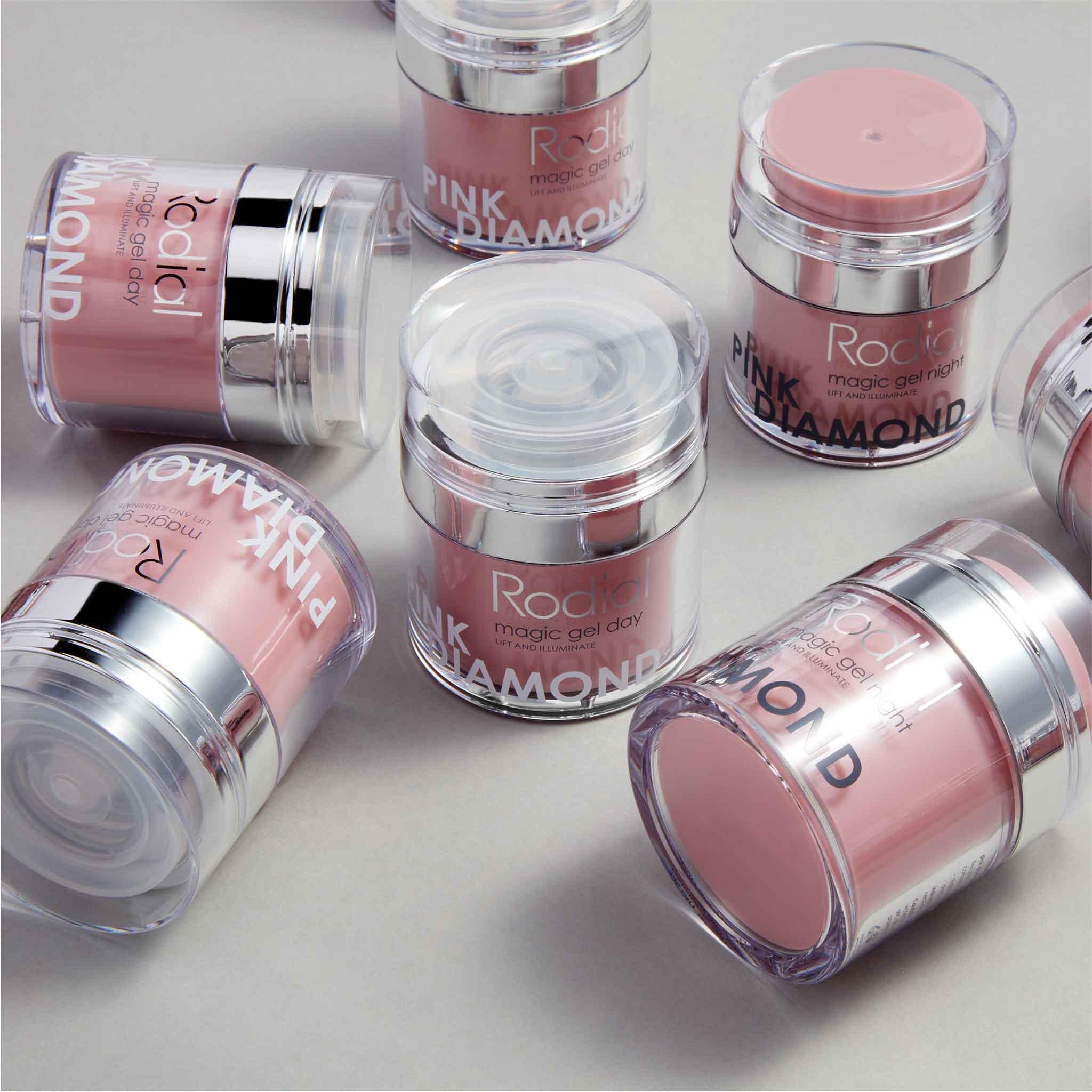Rodial Pink Diamond Magic Gel Night