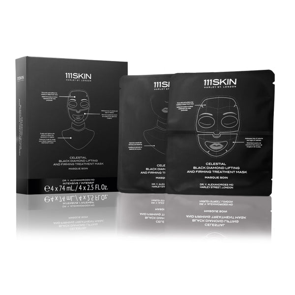 111SKIN Celestial Black Diamond Lifting and Firming Treatment Mask Box