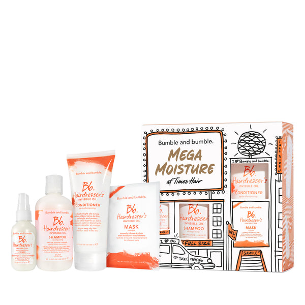 Mega Moisture Hairdresser's Invisible Oil Set